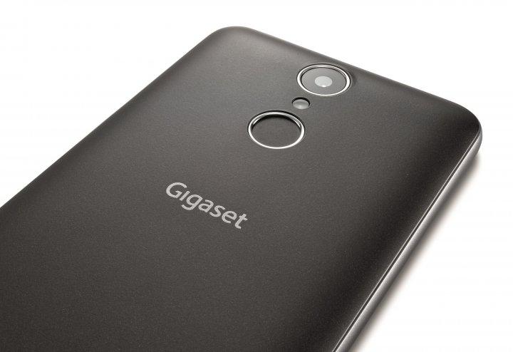 Trotz seines günstigen Preises verfügt das Gigaset GS160 über einen Fingerabdruck-Scanner