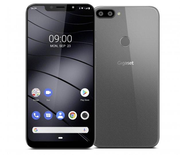 Das Gigaset GS195 ist das einzige Smartphone der Herstellers mit Glasrückseite