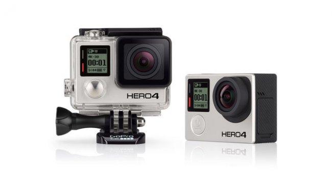 Die neue GoPro Hero 4 Black erlaubt es 4K-Videos mit 30 fps aufzunehmen [Bildmaterial: GoPro]