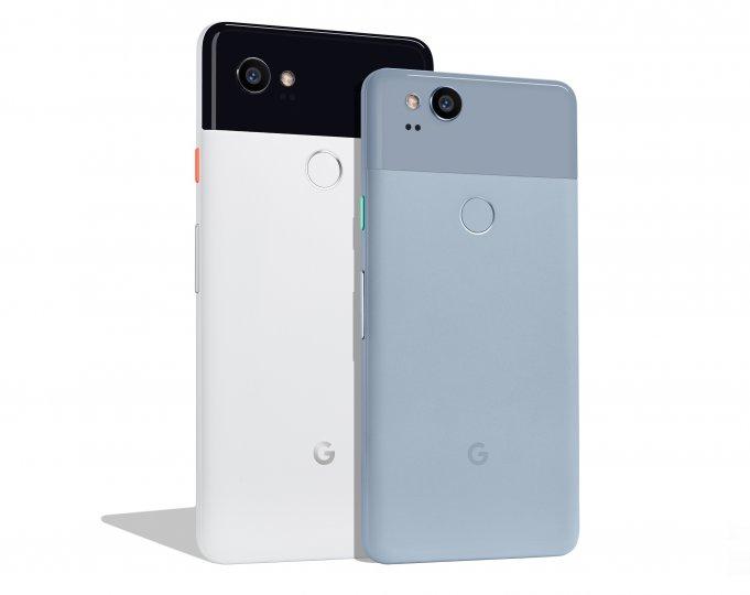 Qual der Wahl: Das Google Pixel 2 ist deutlich kleiner als das Google Pixel 2 XL