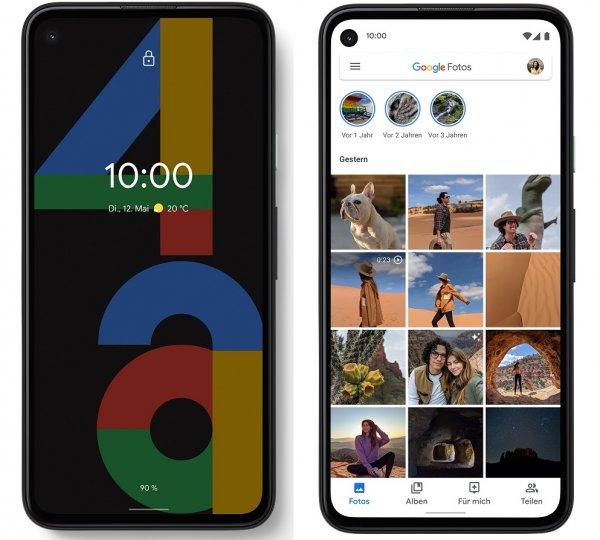 Das Google Pixel 4a hat viele Features des großen Bruders Google Pixel 4, wozu leider auch die fehlende microSD-Karte gehört. Dafür bekommt der Kunde Cloud-Speicherplatz.