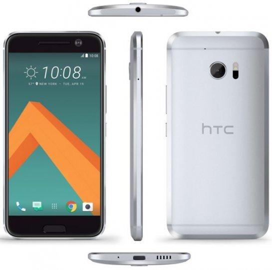 HTC 10: Die abgerundeten Kanten sorgen für ein gutes Handling