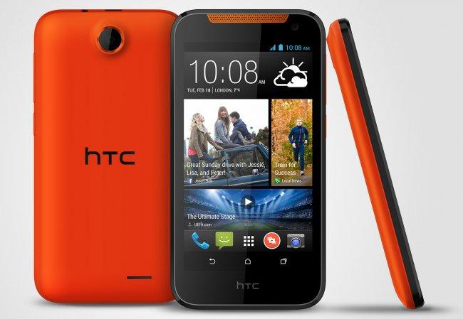 HTC Desire 310: Neues günstiges Smartphone als Konkurrenz zum Moto G [Bildmaterial: HTC]