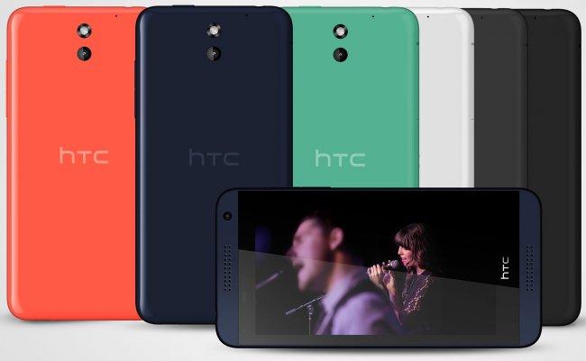 HTC Desire 610: Günstiges Mittelklasse-Gerät mit Standard-Ausstattung [Bildmaterial: HTC]