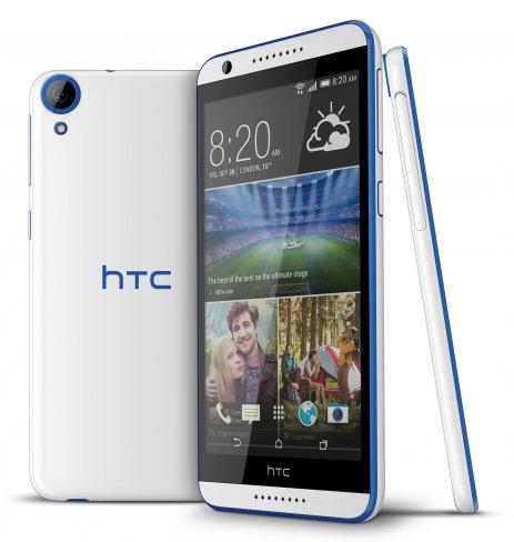 Das neue Desire 820 etabliert die 64-Bit-Architektur bald auch in Mittelklasse-Smartphones [Bildmaterial: HTC]