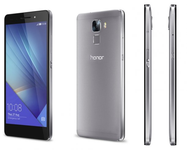 Honor 7 in Mystery Grey [Bildmaterial: Honor]