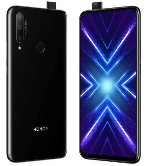 Neben der Pop-Up-Selfie-Kamera ist auch die Rückseite mit der Triple-Kamera ein Merkmal des Honor 9X