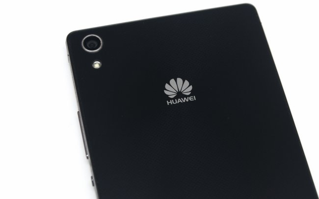 Huawei Ascend P7 - Die 13-MP-Kamera auf der Rückseite liefert scharfe Bilder