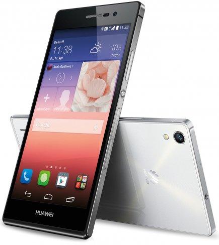 Das neue Huawei Ascend P7 wird in den Farben Weiß und Schwarz lieferbar sein [Bildmaterial: Huawei]