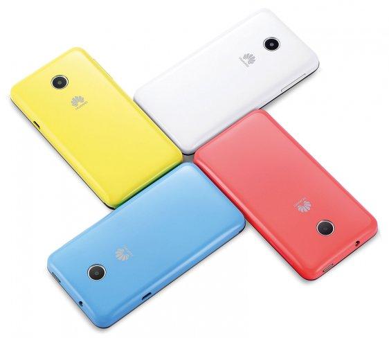 Huawei Ascend Y330: Günstiges Einsteiger-Smartphone, für das auch verschiedene bunte Wechselcover erhältlich sind [Bildmaterial: Huawei]