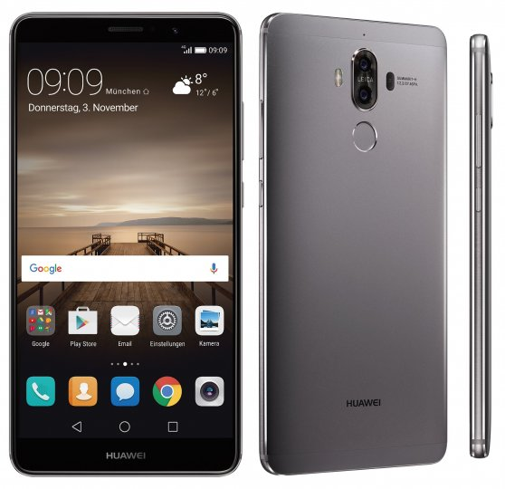 Huawei Mate 9 [Bildmaterial: Huawei]