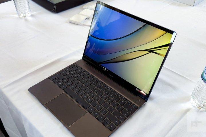 Das Huawei MateBook X ist das erste Notebook des Herstellers
