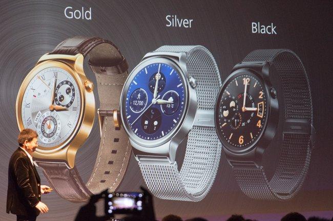Huawei Watch: Die neue Smartwatch aus Edelstahl kommt in drei verschiedenen Farben auf den Markt