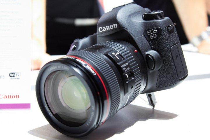Canon EOS 6D auf der photokina 2012
