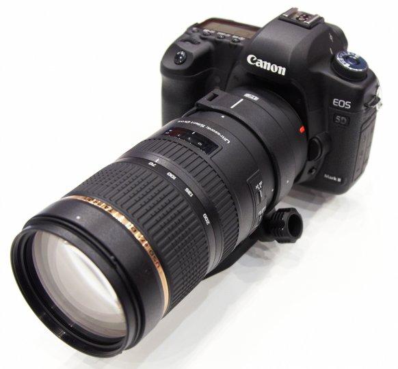 Tamron SP 70-200mm F2.8 Di VC USD auf der photokina 2012