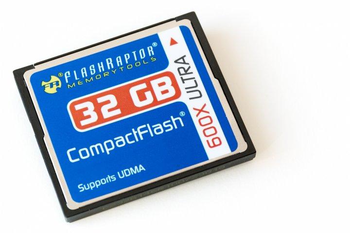 FlashRaptor 600x Ultra (16 GByte) CompactFlash-Speicherkarte