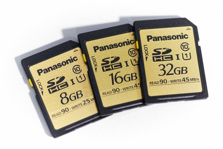 Panasonic Gold SDHC Speicherkarten