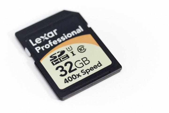 Lexar Professional 400x 32 GB SDHC Speicherkarte