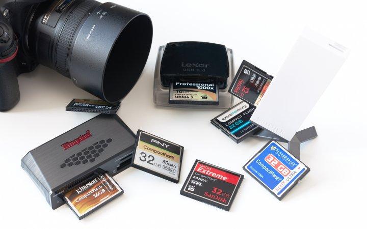 CompactFlash-Speicherkarten 2013