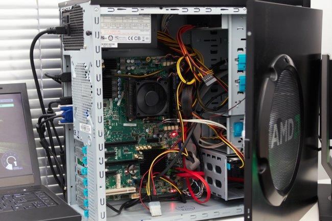 AMD Trinity Test-PC mit 100 Watt Trinity APU