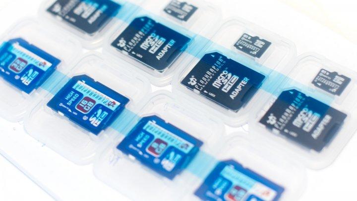 Flashraptor SDHC und microSDHC-Speicherkarten