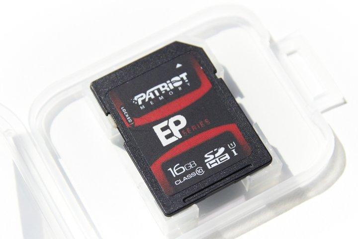 Patriot Memory EP Series SDHC Speicherkarte 8 GB