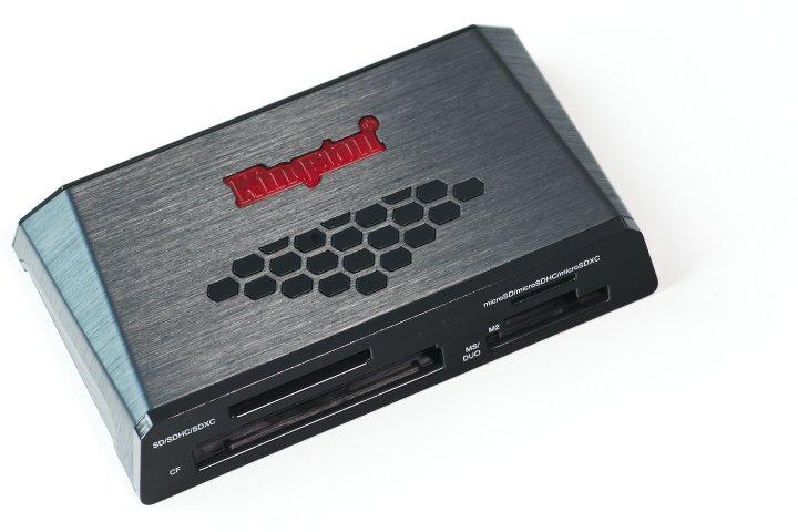 Kingston USB 3.0 Media Reader (FCR-HS3) - USB 3.0 Kartenlesegerät im Test 2011/08