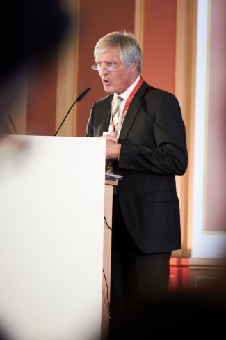 Bild von der gfu Insights und Trends im Rahmen des IFA Innovations Media Briefings (IMB) - Dr. Andreas Bereczyk (ZDF)