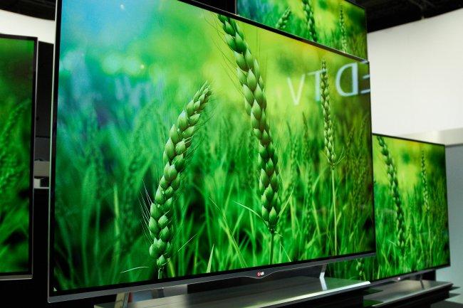 LG OLED-TV mit 4mm Bautiefe auf der IFA 2012