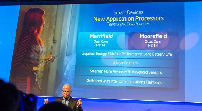 Intel Merrfield: Neuer Dual-Core-Prozessor als Zugpferd für Intel in der mobilen Branche