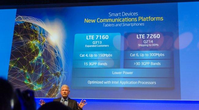 Intel XMM 7260 & XMM 7160 LTE Modems im direkten Vergleich