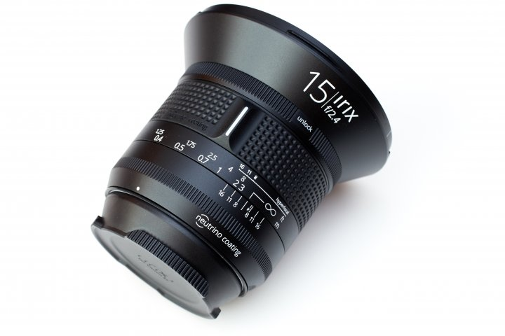 Irix 15 mm f/2.4 Firefly: Autofokus und Bildstabilisator gibt es hier nicht.