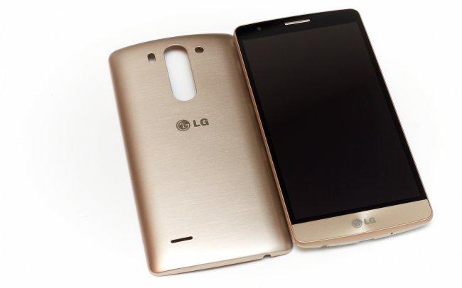 LG G3 s: Optisch sieht es bis auf kleine Details dem G3 zum Verwechseln ähnlich