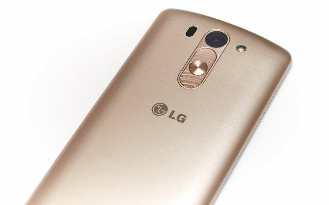 LG G3 s: Hier setzt man auf nur eine LED für den Blitz, der Laser-AF ist jedoch wieder mit dabei