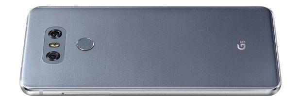 Das Unibody-Gehäuse des LG G6 besteht aus Metall und Glas