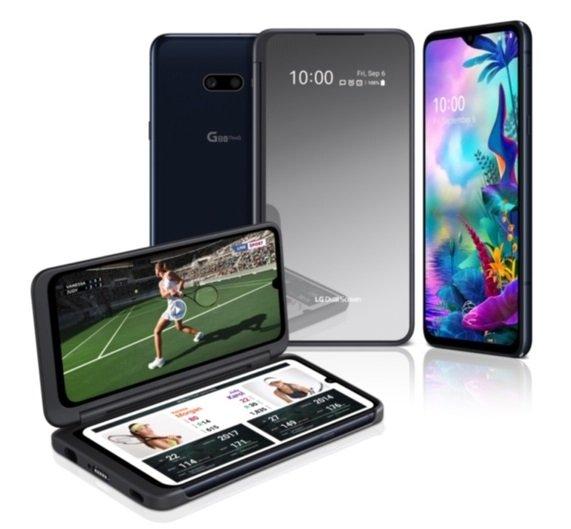 Das LG G8X ThinQ wird, wenn der Dual-Screen angedockt ist, zur Alternative zum faltbaren Display