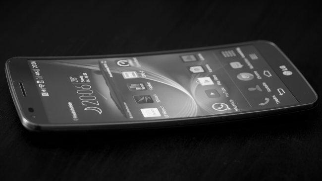 LG G Flex - Das gebogene Display eignet sich insbesondere für Filme und Spiele