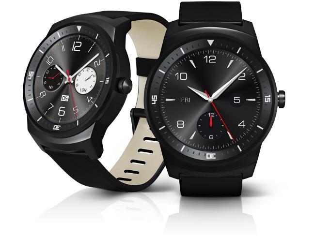 Dank IP67-Zertifizierung auch wasserdicht: LG G Watch R [Bildmaterial: LG]