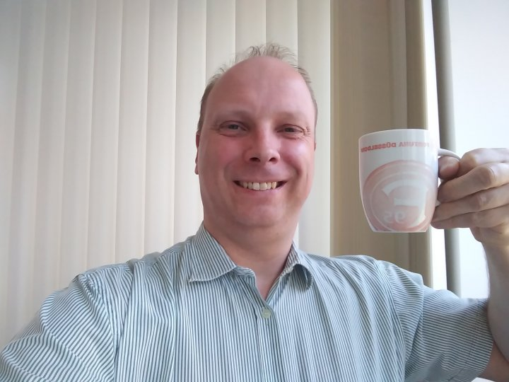 LG K8: Selfie