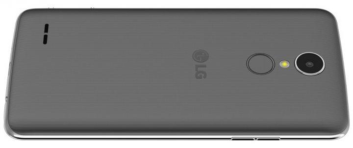 Gewöhnungsbedürftig: Der An-/Aus-Knopf liegt auf der Rückseite des LG K8 [Bildmaterial: LG]