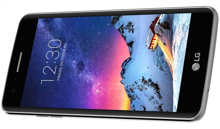 Das LG K8 wird über ein Fünf-Zoll-HD-Display gesteuert [Bildmaterial: LG]