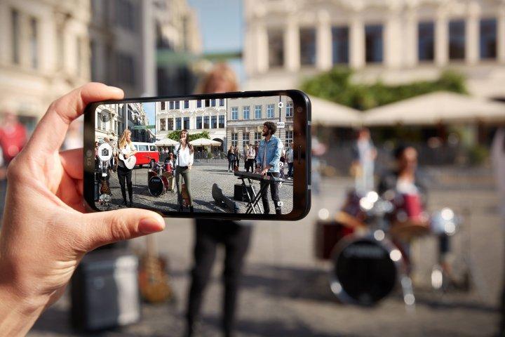 Anders als das LG G6 verfügt das LG Q6 über keine Dual-Kamera