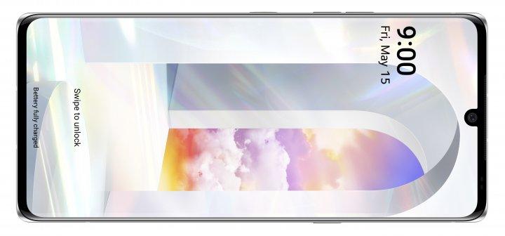 Das Display des LG Velvet ist hell und gut ablesbar, doch die Pixeldichte liegt bei nur 395 ppi