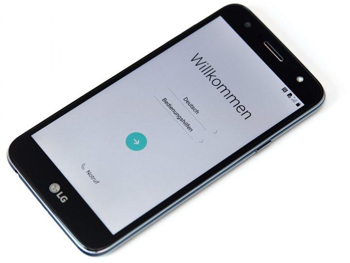 LG X power2: Das 5,5-Zoll-Display löst mit nur 1.280 x 720 Pixeln auf