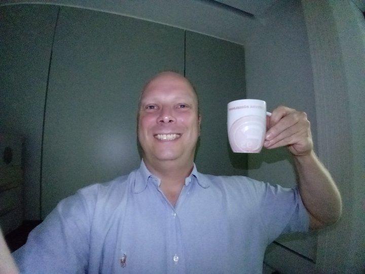 Die Selfie-Kamera des LG Xpower 2 ist mit einem Fotolicht ausgerüstet