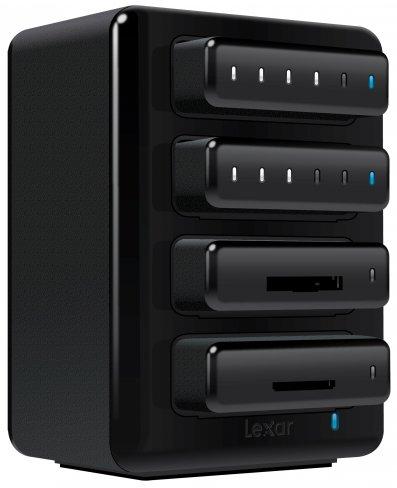 Lexar Professional Workflow HR2 mit DD512 USB 3.0-Flash-Drive [Bildmaterial: Lexar]