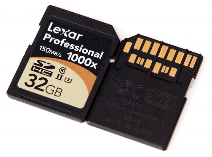 Lexar Professional 1000x SDHC-Speicherkarte, 32 GB