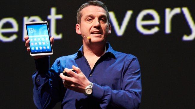 Huawei MediaPad M1 dem MWC 2014 in Barcelona