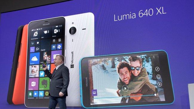 Microsoft Lumia 640 XL auf dem MWC 2015