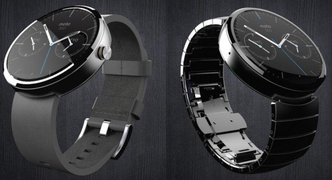 Die wohl erste Smartwatch der Welt mit rundem Display: Motorola Moto 360 [Bildmaterial: Motorola]